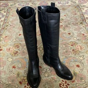 Arturo Chaing Tall Black Boots. Size 7